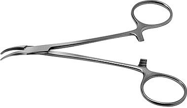 Halstead Curved Hemostatic Mosquito Forceps
